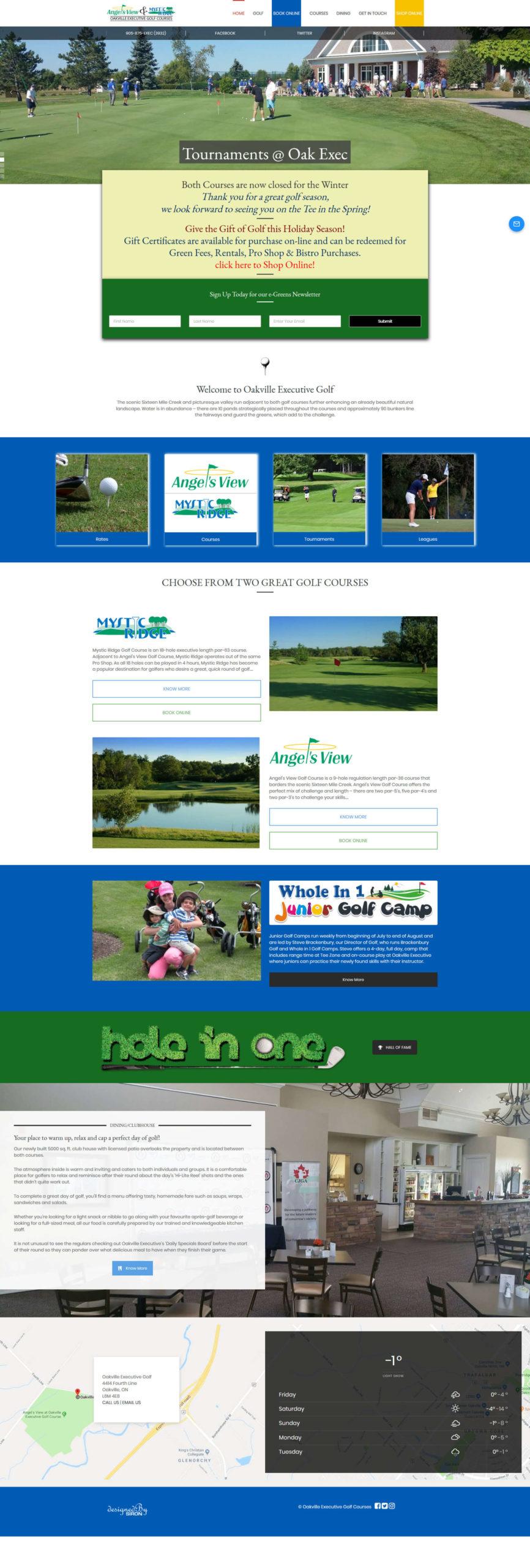 Oakville Executive Golf