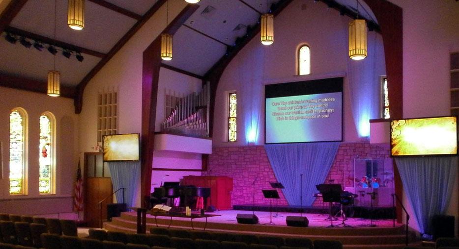 Led Church Lighting