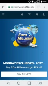 eurolotto mobile casino review