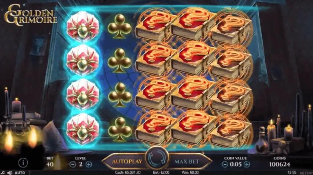 Golden Grimoire Slot Machine