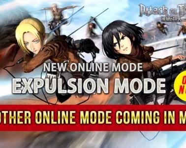 Attack On Titan 2 Expulsion Mode