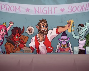 Monster Prom group