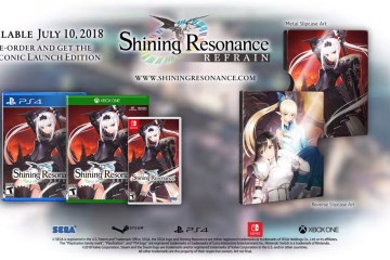 Shining Resonance Refrain metal slip case