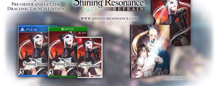 Shining Resonance Refrain metal slip case