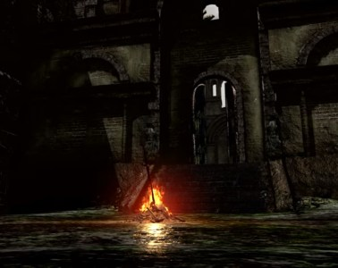 Dark Souls the fire