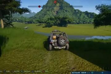 Jurassic World Evolution exploration