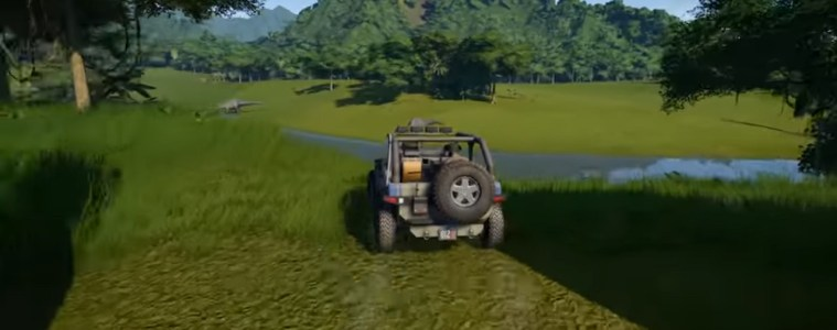 Jurassic World Evolution exploration