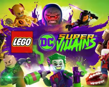 Lego DC Super-Villains title