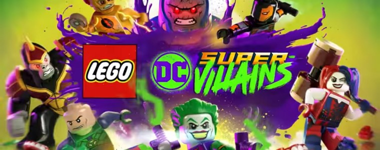 Lego DC Super-Villains title