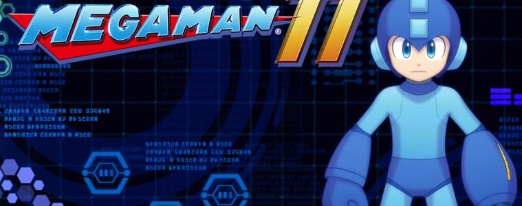 Mega Man 11 title