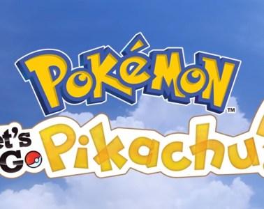 Pokemon: Let's Go Pikachu title