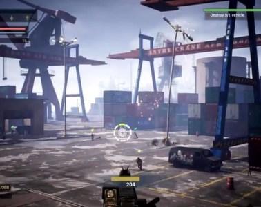Heavy Fire: Red Shadow battlefield