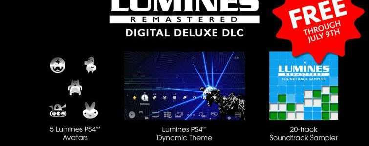Lumines Remastered package