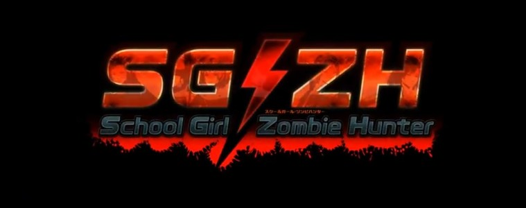 School Girl/Zombie Hunter title
