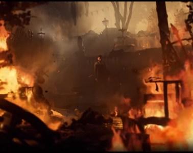 Vampyr among the burning