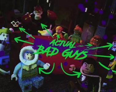 LEGO DC Villains actual bad guys