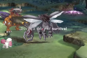 Digimon Survive battle