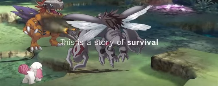 Digimon Survive battle