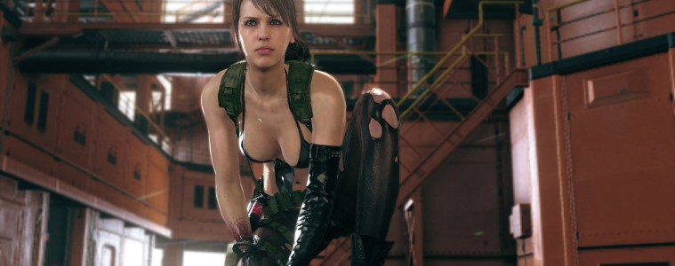 Metal Gear Solid V: The Phantom Pain Quiet
