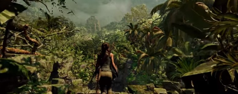 Shadow of the Tomb Raider rainforest