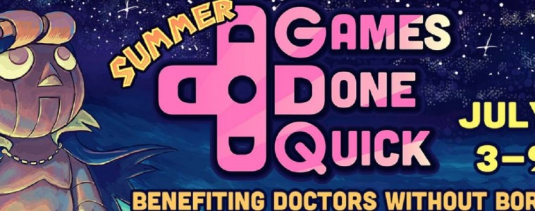 Summer Games Done Quick banner
