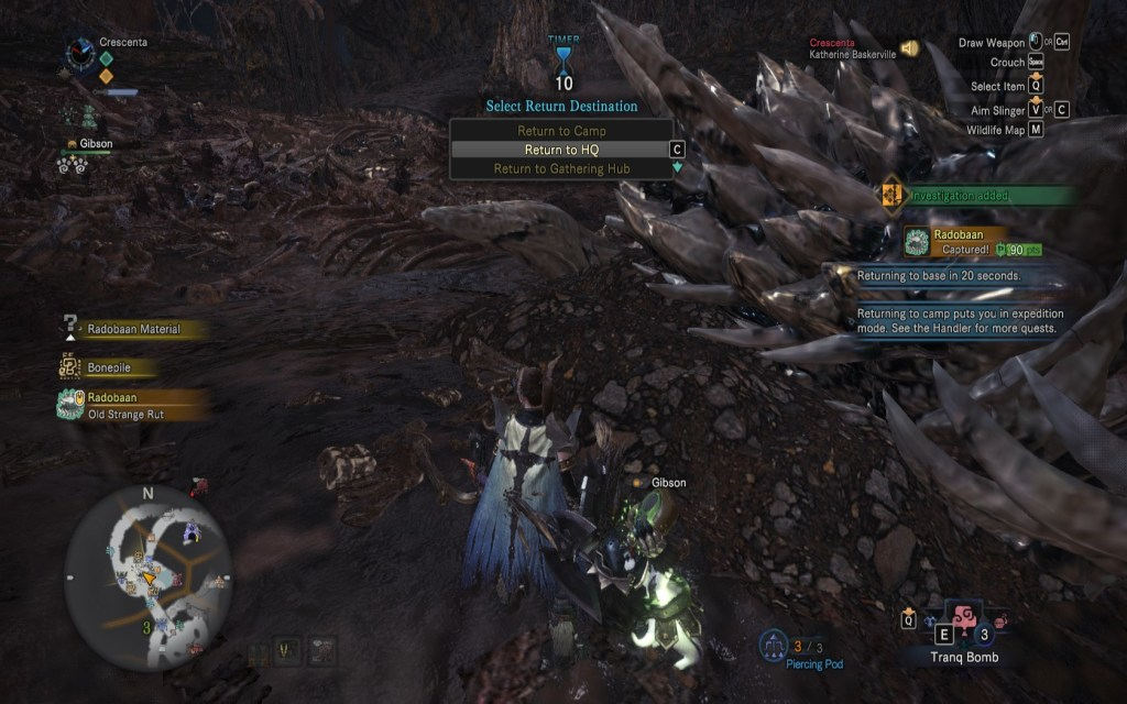 Monster Hunter World Capturing Tips