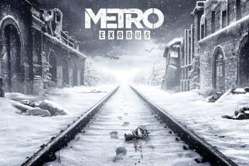Metro Exodus title snow