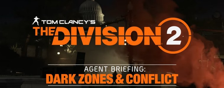 The Division 2 dark zones and conflict