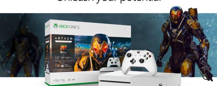Anthem Xbox One S bundle