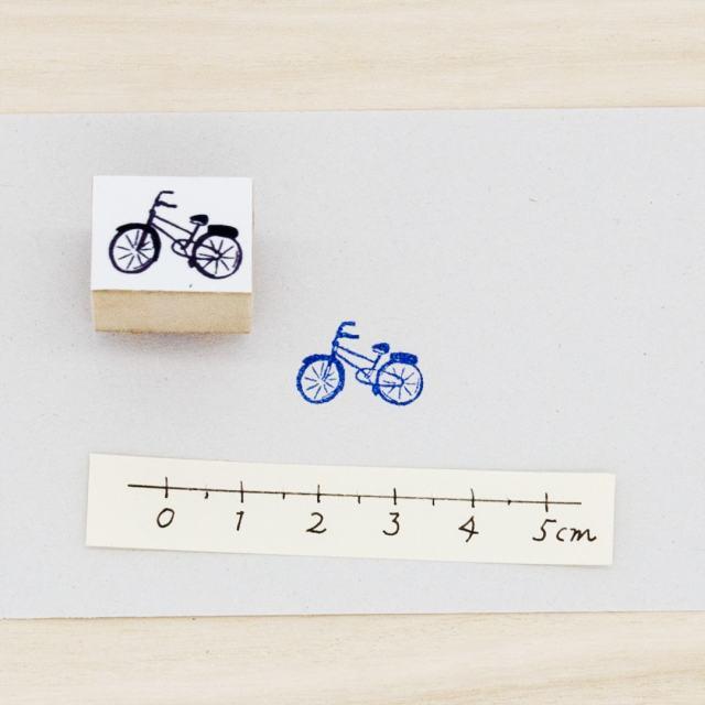 スタンプ 自転車