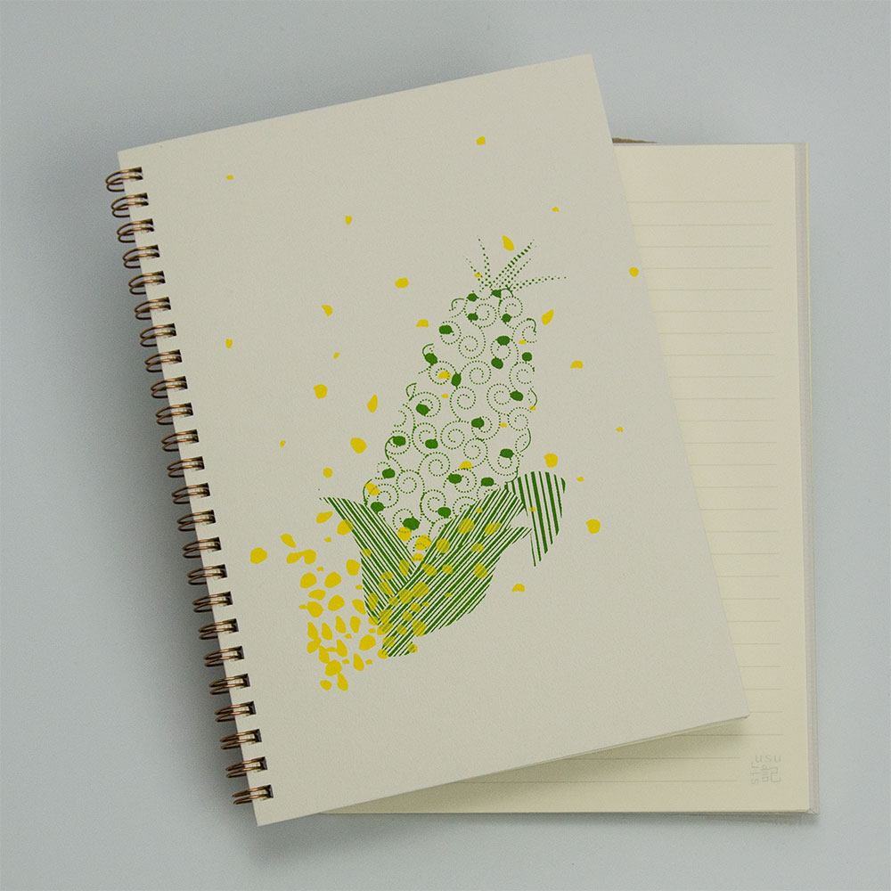 popcorn<br>(裏表紙/灰白)イメージ1