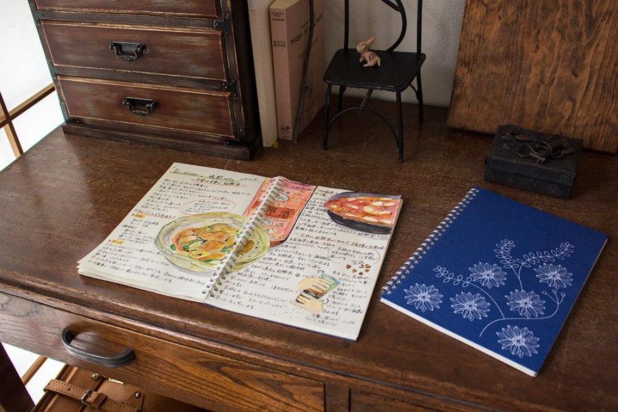 リングノート オリジナル レシピ帳として活用