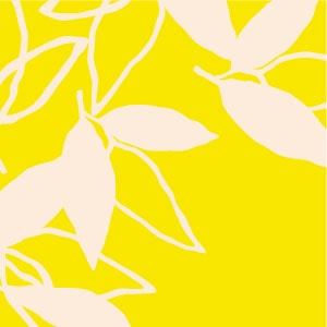 「葉模様×黄色」を選ぶ