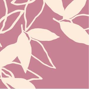 「葉模様×桃色」を選ぶ