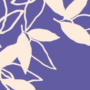 「葉模様×紫色」を選ぶ