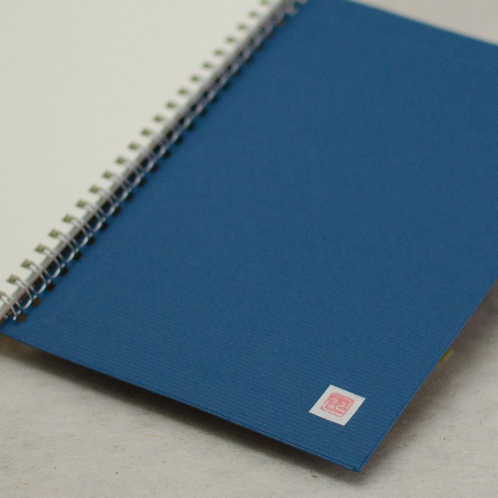 「tubaki」背表紙「濃青」イメージ3