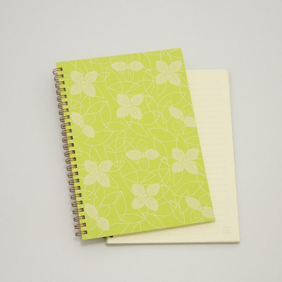 オーダーノート(A5)<br>つながり×黄緑色