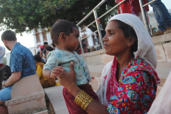 The love between mother and child, Pushkar.