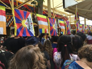 The Dalai Lama's birthday celebration