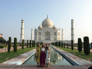 At the Taj Mahal with two of my sisters, Lauren and Abby. It was so special to share a piece of my time in India with them!