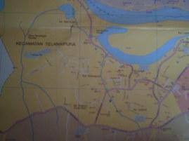 Peta Kota Jambi