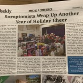 2019 Santa Clara Weekly, Soroptimist helps families in the community with Christmas store