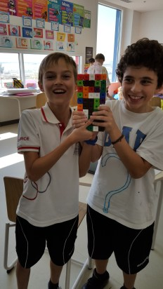 We made different structures using 100 blocks.
