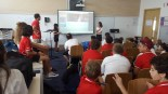 5B presenting to the Grade 7's