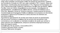 SISEP RIO requereu em 10/04/2017 reunião com o Presidente do Previ Rio para tratar de vários assuntos de interesse dos servidores. Mais uma vez a Municipalidade ignora os trabalhadores demonstrando […]