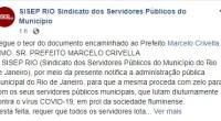 Segue o teor do documento encaminhado ao PrefeitoMarcelo Crivella.ILMO. SR. PREFEITO MARCELO CRIVELLAO SISEP RIO (Sindicato dos Servidores Públicos do Município do Rio de Janeiro), por meio da presente notifica […]