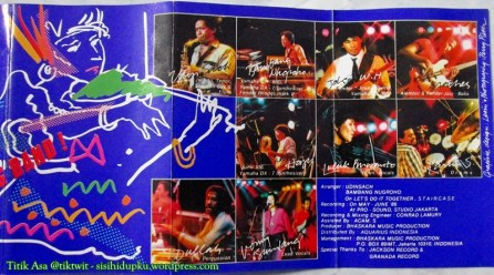 Cover dalam kaset Bhaskara'86.