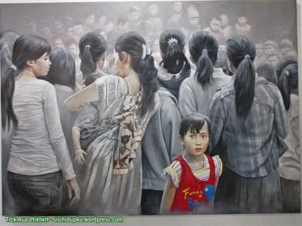 Entah kenapa saya suka lukisan ini...