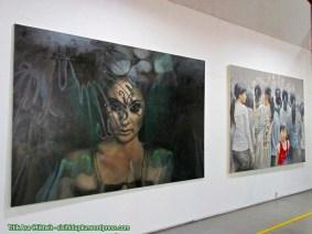 Lukisan yang dipamerkan