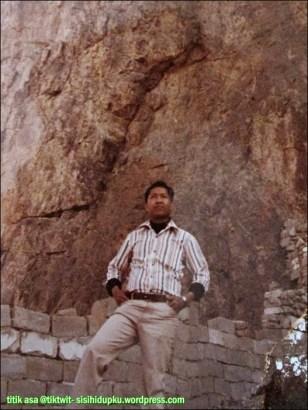 Bapak di Gunung Uhud.